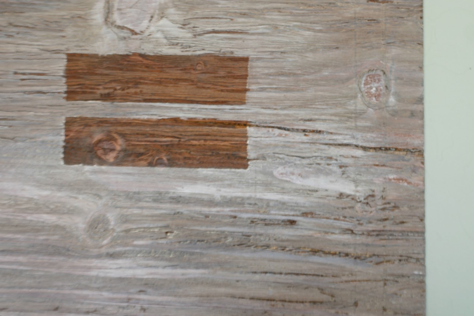 Whitewashing Stained Wood Wall Art Because I Like To Decorate
