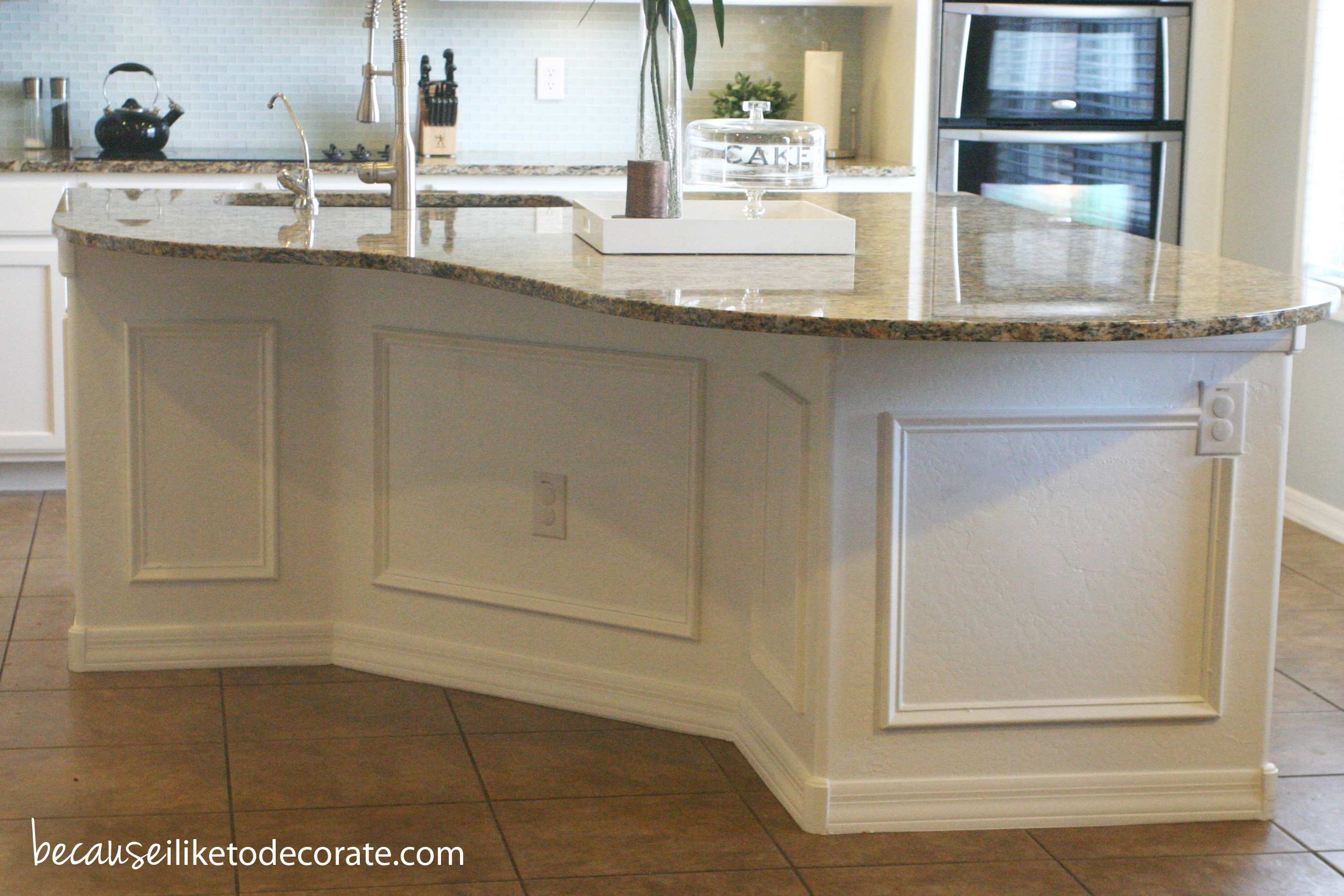 Kitchen Makeover 1 4 – Island Molding