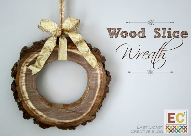 source: http://www.eastcoastcreativeblog.com/2012/12/diy-wood-slice-wreath.html?showComment=1354771858798